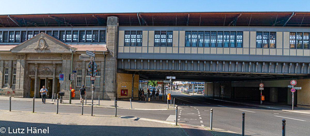 Hintereseite S-Bahnhof - Baumschulenweg