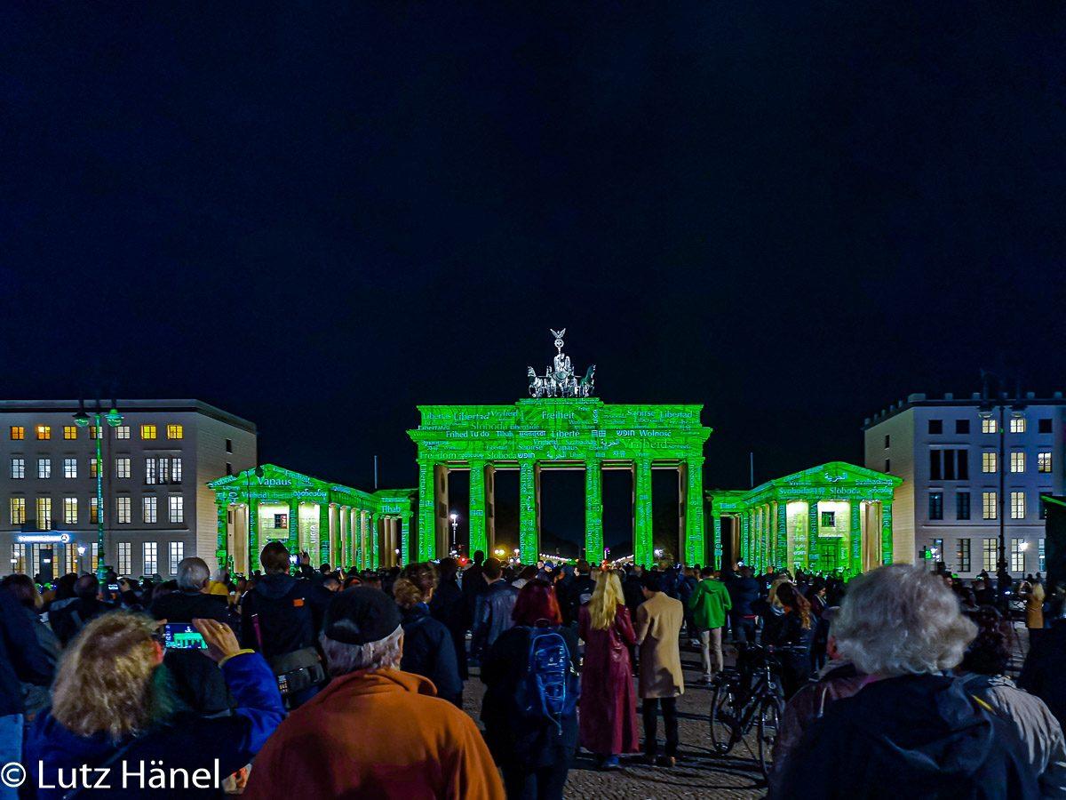 Brandenburger Tor - Berlin Leuchtet 2019
