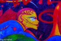 Fotos von der East Side Gallery der Serie Graffiti und Streetart in Berlin